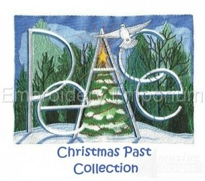 Christmas Past Collection - Machine Embroidery Designs On Cd