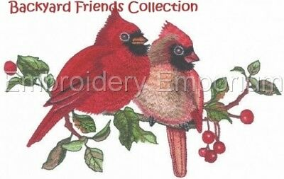 Backyard Friends Collection - Machine Embroidery Designs On Cd
