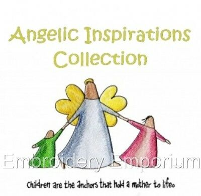 Angelic Inspirations Collection - Machine Embroidery Designs On Cd
