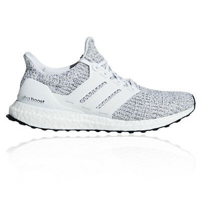 fc4e5fe207c4be adidas Mens UltraBOOST Running Shoes Trainers Sneakers Grey White Sports