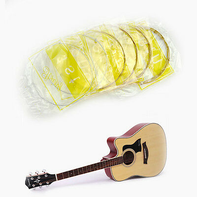 1 Set of 6 pcs Steel Strings For Acoustic Guitar 150XL 1 M 1st-6th String Lot