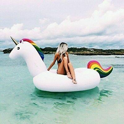 Giant Inflatable Unicorn Pool Float Floaty Swimming Pool Lilo Dinghy Raft XXL