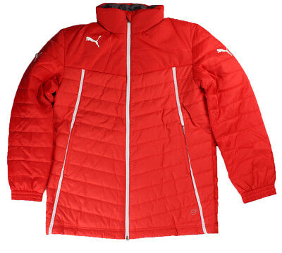 PUMA KING COACH Jacket Trainer Stadion Jacke Gr M Rot 653558 01