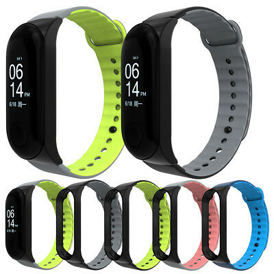 For Xiaomi Mi Band 3 Replacement Sport Silicone Bangle Strap Wristband Bracelet