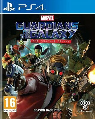 Marvel's Guardians of the Galaxy: The Telltale Series (PS4) VideoGames