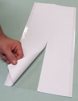 """5 - 10"""" x 21"""" Brodart ARCHIVAL Fold-on Book Jacket Covers - Super Clear Mylar"""