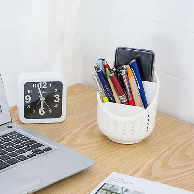 Office Desk Organizer Pen Stand Pin Card Holder Gift Table Decor Stationery 6A