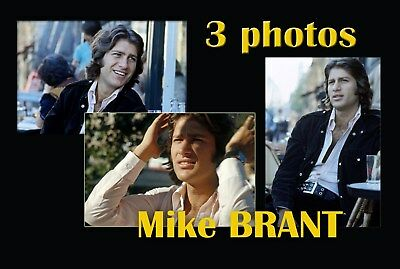 3 Photos  Mike Brant  N°02