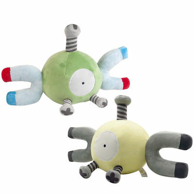 Pokemon Center Magnemite Plush Doll Stuffed Animal Figure Toy Kids Baby Gift 9""