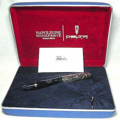 Delta Napoleon Limited Edition Pen in Blue 413/808 New in Box Product