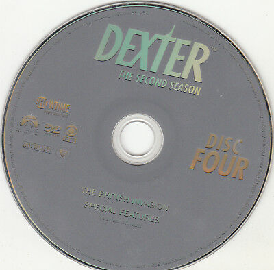 Dexter Second Season 2 Disc 4 Replacement Dvd Disc Only
