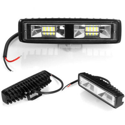 2x Fog Light 48W 12V 16LED Work Beam Driving Lamp For SUV Off-Road Universal