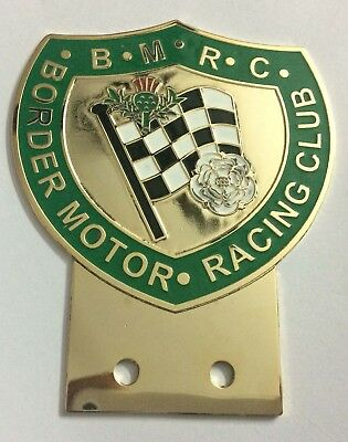 Automobile Club Moaco Car Grill Badge Emblem Enamled Car Logo Metal Badge Racing Other