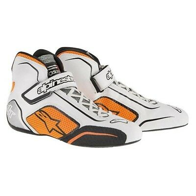 Chaussures ALPINESTARS TECH 1-T blanc/orange T42