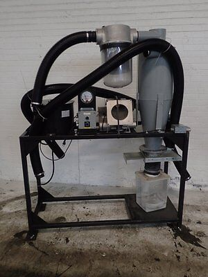 Used Pelletron P5 Mini DeDuster Dust Collection System