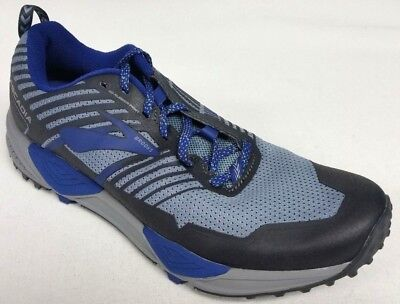 9a91db58f05db New Men s Brooks Cascadia 13 Athletic Running Shoes - Size 9 - Black Blue
