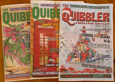 Harry Potter - The Quibbler - Three Complete Magazines - Issues 1, 2 and 3