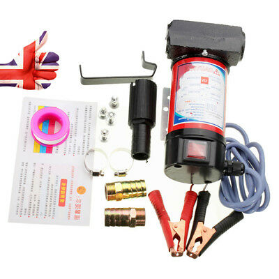 Fuel Diesel Pump Oil Kerosene Pump Portable Electric 12V 40L/Min 175W
