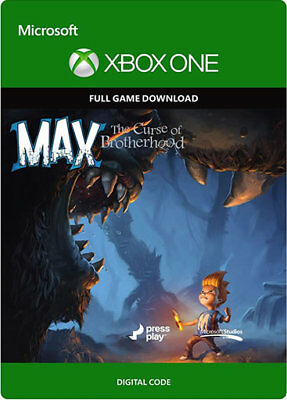 MAX THE CURSE OF BROTHERHOOD Xbox One & Xbox 360 Download Code