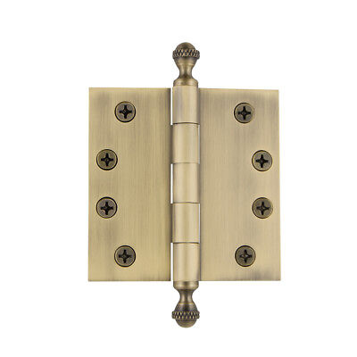 Grandeur ACOHNG-SQ-AR-HD-4 4 x 4 Inch Plain Bearing Square Corner Mortise Door H