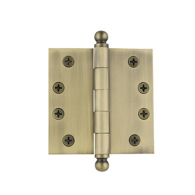 Grandeur BALHNG-SQ-AR-HD-4 4 x 4 Inch Plain Bearing Square Corner Mortise Door H