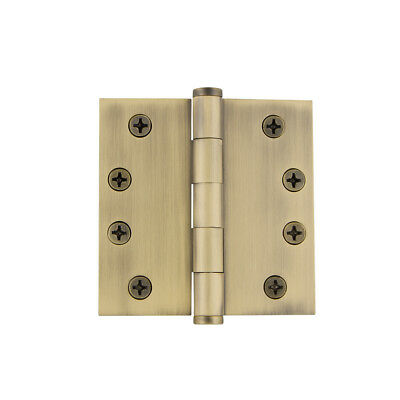 Grandeur BUTHNG-SQ-AR-HD-4 4 x 4 Inch Plain Bearing Square Corner Mortise Door H