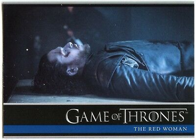 The Red Woman #01 Game Of Thrones Season 6 Rittenhouse 2017 Trade Card (C2279)