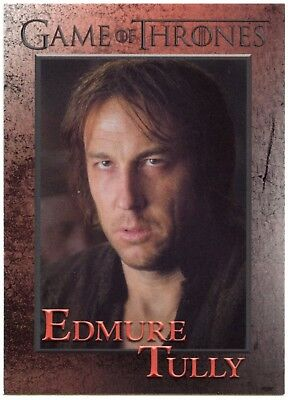 Edmure Tully #72 Game Of Thrones Season 6 Rittenhouse 2017 Trade Card (C2279)