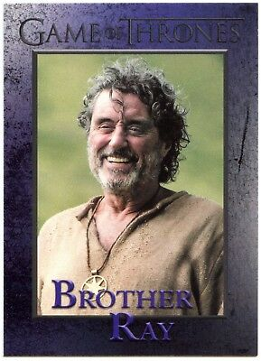 Brother Ray #99 Game Of Thrones Season 6 Rittenhouse 2017 Trade Card (C2279)