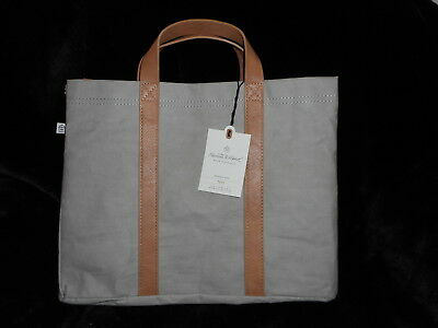 Hearth & And Hand With Magnolia Taupe & Faux Leather Tote Bag Purse Women's New