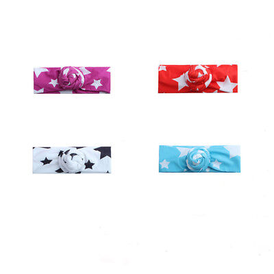 Toddler Baby Girls Bow Infant Cute Headband Elastic Hair Band Accessories 6A