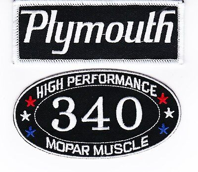 DUSTER 318 SEW//IRON ON PATCH BADGE EMBLEM EMBROIDERED MOPAR HEMI CAR PLYMOUTH