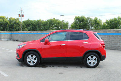2017 Chevrolet Trax FWD 4dr LT FWD 4dr LT SUV Automatic Gasoline 1.4L 4 Cyl RED HOT