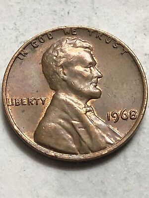 1968-P  Unc Lincoln Memorial Penny Cent Red Uncirculated 1C Coin Lot P79
