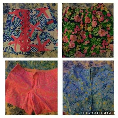 Lilly Pulitzer Shorts And Skirt Lot