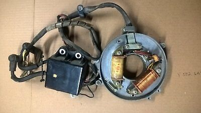Tohatsu Outboard 25hp ignition assembly Y582 6A1 cdi switchbox coils stator