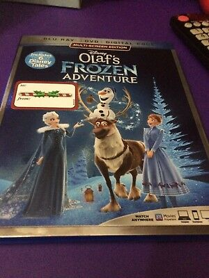 Disney's Olaf's Frozen Adventure Blu-Ray & DVD