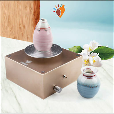 Rechargeable Mini Ceramic Art Production Machine Clay Making Pottery Machine DIY