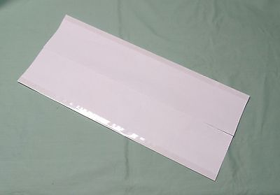 """10 - 9"""" x 21"""" Brodart ARCHIVAL Fold-on Book Jacket Covers - Super Clear Mylar"""