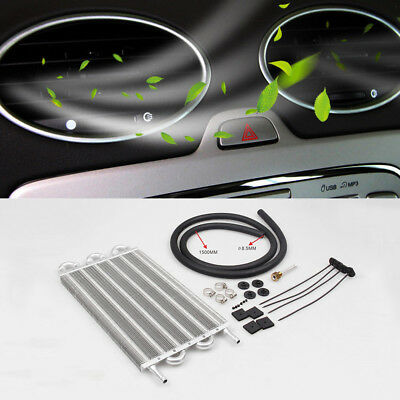 High Quality 190mm Car Auto Tube Air Conditioning Condenser Set Kit Aluminum New