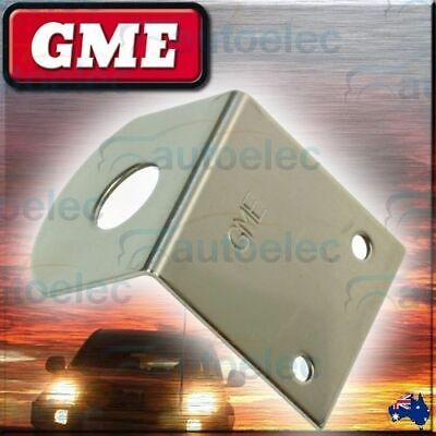 GME BONNET BOOT MUDGUARD MOUNT ANTENNA UHF CB l BRACKET STAINLESS STEEL  MB403SS