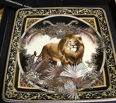 VERSACE PLATE TRAY LION Medusa Rosenthal NEW BIRTHDAY GIFT IDEA Christmas SALE