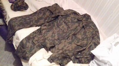 Russian Army VSR-93 size 50-3 camo uniform and size 59 cap with 2 badges L@@K!!!