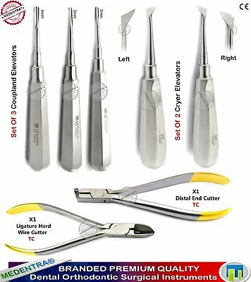 Dentists Surgical Teeth Extracting Elevators Ligature Wire Cutters Orthodontists