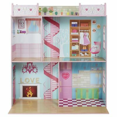 """Sindy Dolls House Suitable for 18"""" Dolls H111xW111xD55cm For 3 years+ Damage Box"""