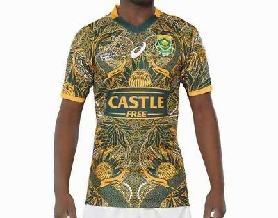 South Africa Nelson Mandela's 100th birthday Rugby Jersey size: S-3XL