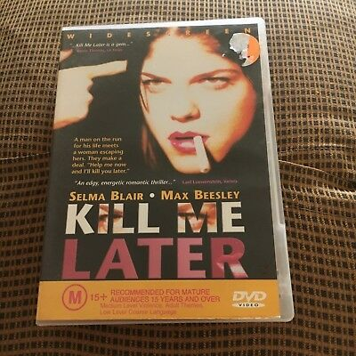 Selma Blair. Kill Me Later Dvd