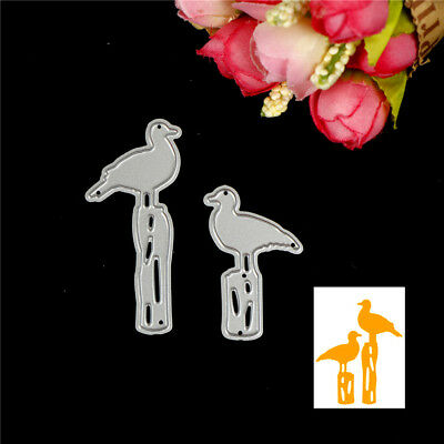Birds Design Metal Cutting Die For DIY Scrapbooking Album Paper Cards S*