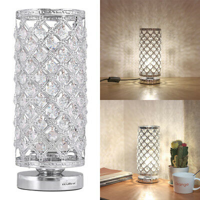 Crystal Table Lamp bedside lamp,110pcs K9 crystals hanging can be disassembled