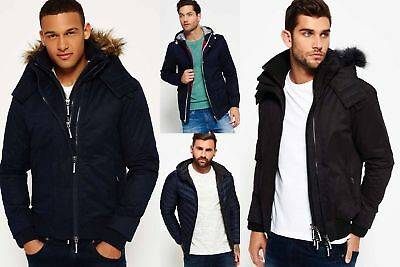 New Mens Superdry Jackets Selection - Various Styles & Colours 181218